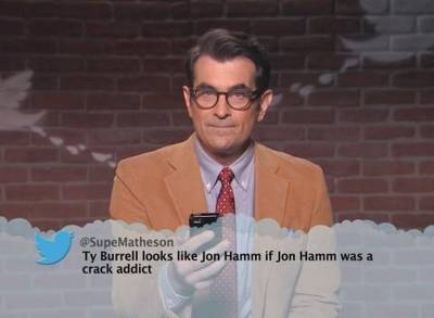 News video: 'Jimmy Kimmel Live!': Celebrities Read Mean Tweets #8