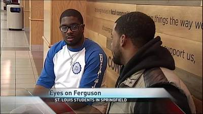News video: Eyes on Ferguson: Springfield Students From St. Louis Share