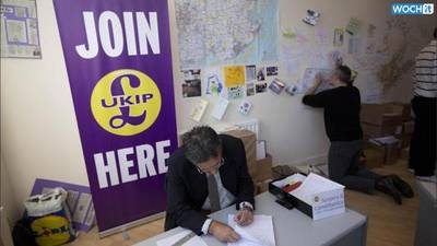 News video: UKIP Win Rochester By-election, Taking Second Seat in Westminster