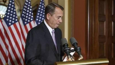 News video: Boehner: House Won't 'Stand Idle' on Immigration Plan